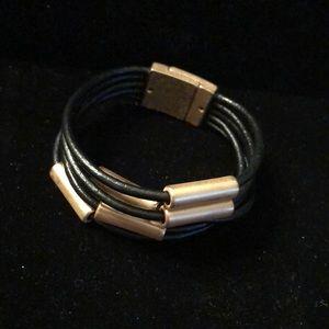 Merx Jewelry - Merx Black/Copper Bangle